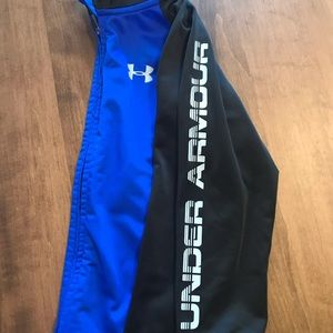 Boy's Under Armour Warm - Up Nylon Jacket - Size 7